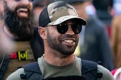 Proud Boys Leader Arrested For Burning BLM Banner From Black Church