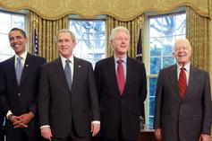 Barack Obama, George Bush, Bill Clinton, & Jimmy Carter Issue Statements About Violence At Capitol
