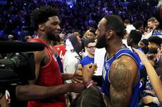 Joel Embiid Blames LeBron James Foul For His Back Problems