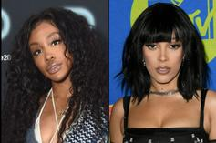 SZA Tells Doja Cat Cat She's On Her Way To Becoming The Next Britney Spears