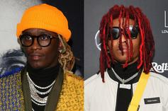Young Thug Gifts Lil Keed A Grey 2021 Mustang Mach-E Truck For His Birthday