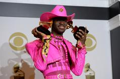 Lil Nas X Gets Diamond Nails And Opal Grills For His Birthday