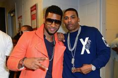"""Nelly Shows Off His """"Usher Bucks"""""""