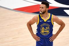 Steph Curry Has Curious Reaction To Potential LeBron James Play-In Matchup