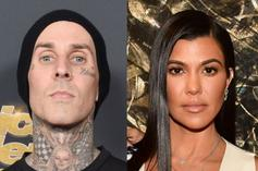 "Kourtney Kardashian Gives Travis Barker ""I Love You"" Tattoo"