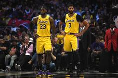 Lakers Lose To Suns After Anthony Davis Leaves Game With Groin Strain