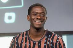 Damson Idris Reacts To Trolls After Posing Question About Men Getting Curved