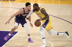 LeBron James & Devin Booker Show Love After Hard-Fought Series