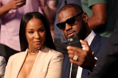 LeBron James & Wife Savannah Try Out Dwyane Wade's New Game