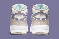 """Nike Dunk High Up To Debut In """"Iron Purple"""" Colorway: Photos"""