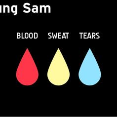 Young Sam - Blood Sweat & Tears