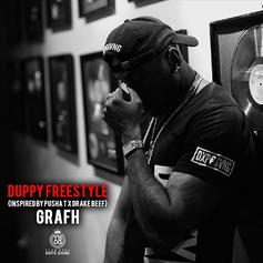 """Grafh Draws Inspiration From Drake & Pusha T On """"Duppy"""" Freestyle"""