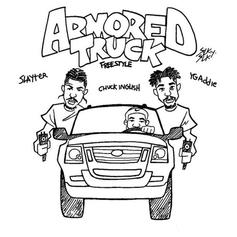 """ASAP Ant & Slayter Ride Through In An """"Armored Truck"""""""