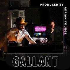 "Gallant & Adrian Younge Link Up On ""Strobe Lights"""