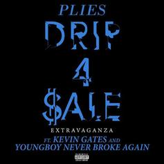 "Plies Links With Kevin Gates & NBA YoungBoy For ""Drip 4 Sale Extravaganza"" Remix"