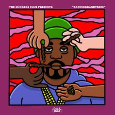 "Smoke DZA Comes Through With ""BaconEggAndTrees"""