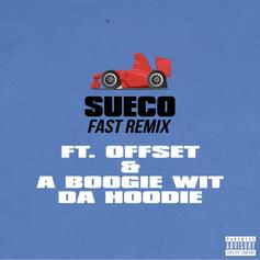"""Offset & A Boogie Wit Da Hoodie Jump On Sueco The Child's Viral Hit """"Fast"""""""