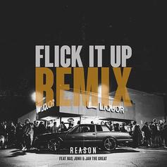 "Reason Links Bas, Junii & Jah The Great For ""Flick It Up"" Remix"