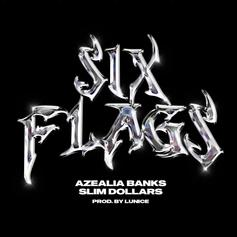 """Azealia Banks & Slim Dollars Connect On Lunice-Produced """"Six Flags"""""""