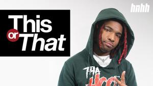 "Lil Keed Picks Lil Wayne Over Drake & Speaks On Quitting Weed On ""This Or That"""