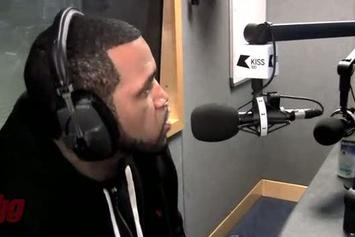 """Lloyd Banks """"Freestyle In London With DJ MK On KISS FM"""" Video"""