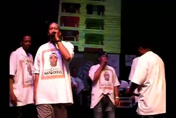"Snoop Dogg, Warren G & Tha Dogg Pound ""Pay Tribute To Nate Dogg at Vibe's SXSW Showcase"" Video"