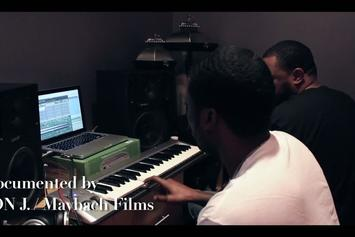 "Meek Mill Feat. Los ""Freestyle In The Studio"" Video"