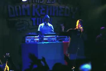 "DOM Kennedy ""This Is Dom Kennedy Tour [Vlog 1]"" Video"