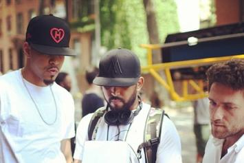 """BTS Photos: Video Shoot For J. Cole's """"Crooked Smile"""""""
