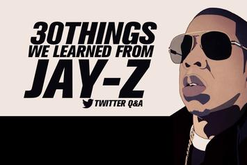 30 Things We Learned From Jay-Z Twitter Q&A