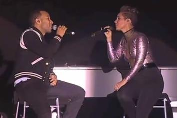 Alicia Keys & John Legend Perform Tribute To Nelson Mandela