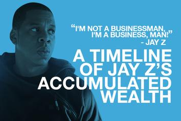 A Timeline Of Jay Z's Accumulated Wealth
