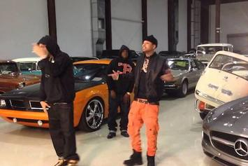 "BTS Of French Montana & Jadakiss' ""88 Coupes"" Video"