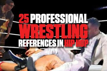 25 Professional Wrestling References in Hip Hop
