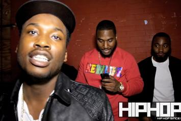 Meek Mill And Omelly Freestyle On The Street