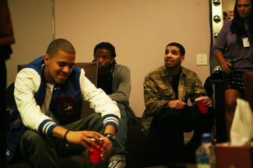 "Drake Calls Himself & J. Cole The ""Two Kings"" Of The Rap Game During L.A. Show"