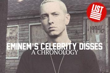 Eminem's Celebrity Disses: A Chronology