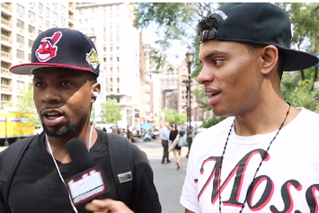 "Word On The Street: New Yorkers React To Nicki Minaj's ""Anaconda"" Music Video"