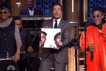 "Rae Sremmurd Performs ""No Type"" Live On Jimmy Fallon"