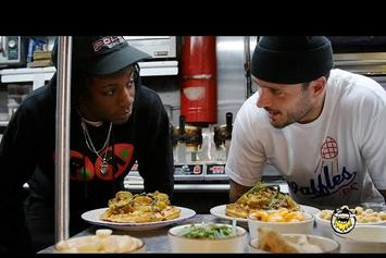 Joey Bada$$ Makes Curry Chicken & Waffles