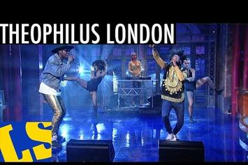 "Theophilus London Performs ""Tribe"" On Letterman"
