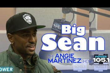 Big Sean Interview With Angie Martinez