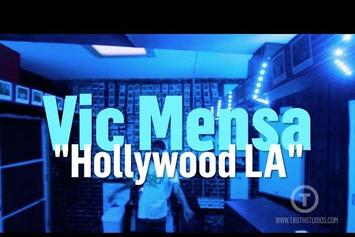 "Vic Mensa ""Hollywood LA"" (In-Studio Performance)"