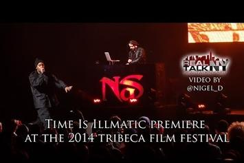 "Nas Premieres ""Time Is Illmatic"" At Tribeca Film Festival"