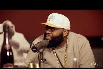 "Rick Ross Talks ""Nobody"", ""Mastermind"" & More With Angie Martinez"