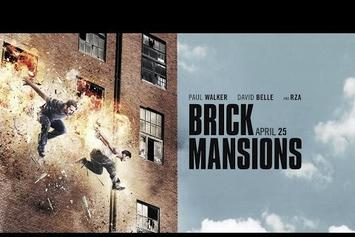 "RZA & Paul Walker Star In ""Brick Mansions"" (Trailer)"