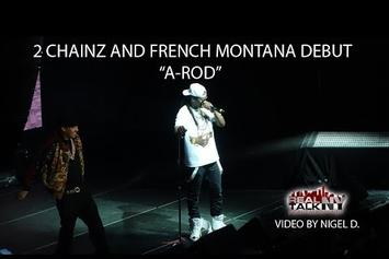 "2 Chainz & French Montana Peform New Song, ""A-Rod"" In NYC"