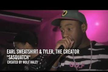 "Earl Sweatshirt & Tyler, The Creator Perform ""Sasquatch"" At The YouTube Music Awards"