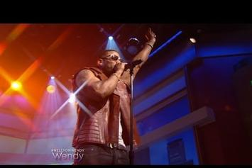 """Nelly Performs """"Rick James"""" On Wendy"""
