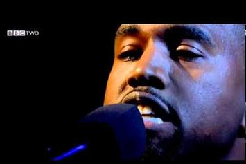 """Kanye West Performs """"New Slaves"""" With Charlie Wilson On Jools Holland"""